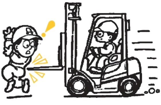 How to improve safety around forklifts